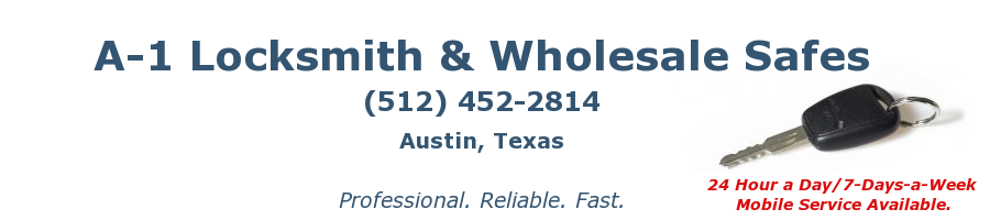Your 24 hour Austin Locksmith Service - A-1 Locksmith
